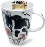 Roy Kirkham Please Shut The Gate Single Mug, Cow