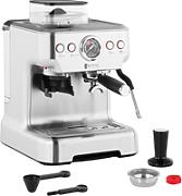 Royal Catering Cafetera expresso - 20 bar - LCD -