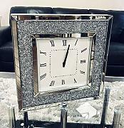 Sassy Home Crush - Reloj de Pared Cuadrado con