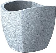 Scheurich 55356 0 - Maceta, color gris