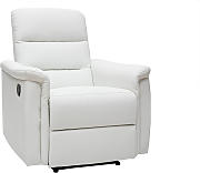 Sillón relax manual blanco MANDALA