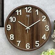 Simple Log Reloj De Pared Vintage Diseño Antiguo