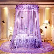 Slow Time Shop Pink Princess Style Mosquito Net