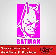 Sticker Genie Pegatina de Pared de Batman Dark