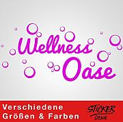 Sticker Genie Wellness OASE - Pegatina para Pared,