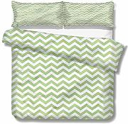 SUPERQIAO Chevron Extra Large Quilt Cover Zig Zags