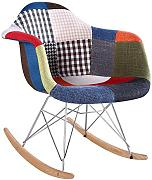 SuperStudio lo+demoda Tower Arms Patchwork Edition - Silla, tela, 40 x 95 x 100 cm, color multicolor