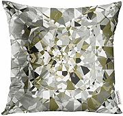 Throw Pillow Cover Summer Season Abstract with