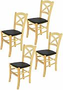 Tommychairs sillas de Design - Set de 4 Sillas