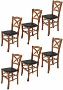 Tommychairs sillas de Design - Set de 6 sillas