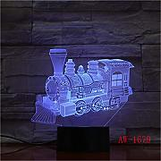 Train 3d Lamp Remote Touch Colorful 3d Nightlight