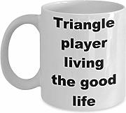 Triangle Player Living The Good Life Taza de café