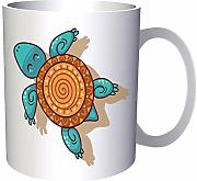 Turtle With Geometrical Motifs 330 ml taza ee590