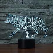 Usb Led Kids 3D Lamp Novedad Led 3D Light Kids