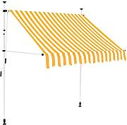 vidaXL Toldo Manual Retráctil 150cm Amarillo