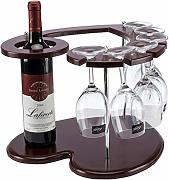Vino Mena UK Love-Type Wine Rack, Estante Madera