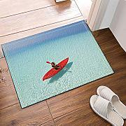 vrupi The Clear Waters of The Sea Alfombras baño