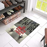 vrupi Walking Dead Horror Zombie Movie Pattern