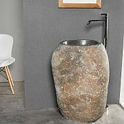 wanda collection Lavabo de pie de Piedra