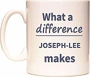 What a difference JOSEPH-LEE makes Taza por