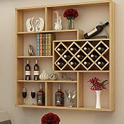 Wine rack Clothes UK Wall Wood Wine Cabinet