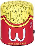Woouf! Puf Frites con Cremallera