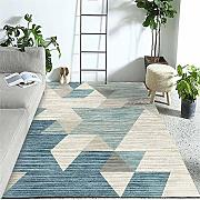 WQ-BBB Moderna Alfombra Lavable Gradiente de Color