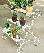 WUFENG Capa 3 - Stepped Flower Racks Hierro Estilo