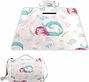 XINGAKA Manta de Picnic Impermeable,Cute Little
