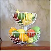 YANFUYING Frutero Metal Fruit Bowl Cocina y
