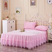 YIFANFENGSHUN YFFS Algodón Lace Bed Skirt Cuna