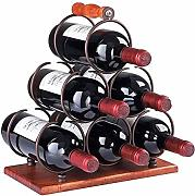 YJGROCE Retro country Wooden Wine Rack