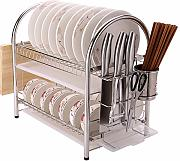 YSSAMM Acero inoxidable plato rack plato placa