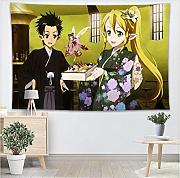 ZKPGUA Tapices Sword Art Online Wall Yoga Oficina