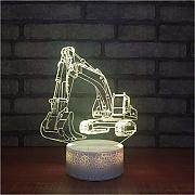 Zlxzlx 7 Colores Cambiantes Led 3D Nightlight