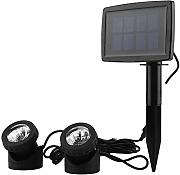 Zoternen LED Luz Solar Sumergible Impermeable IP68
