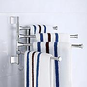 ZXC Bathroom racks Toalla de baño Multiusos Polo,