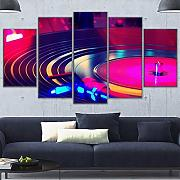 ZYLJ Wall Art Work Modular Canvas Painting Style